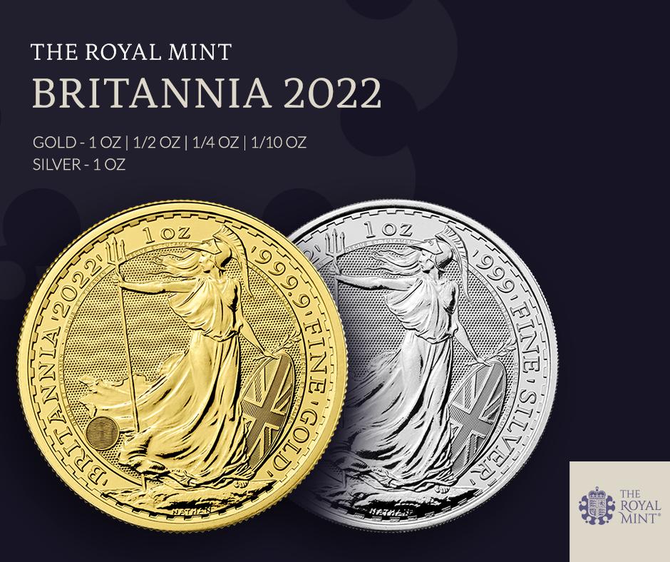 Britannia 1 uncja Srebra 2022
