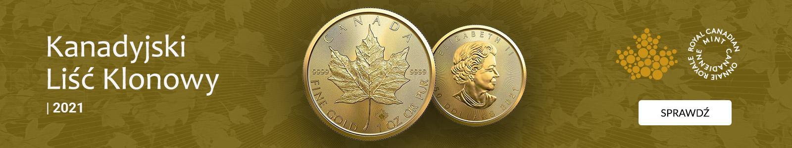 Kanadyjski liść klonowy