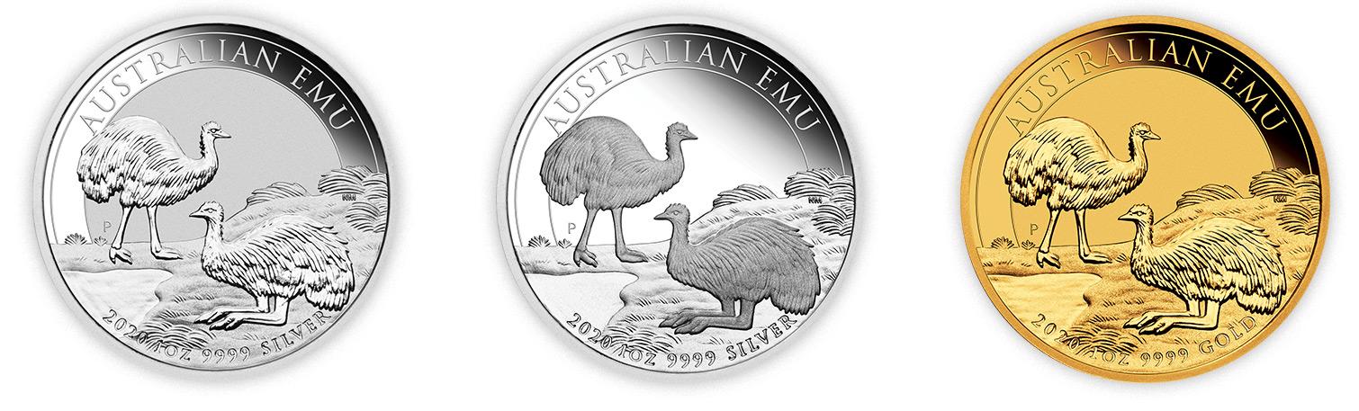 gold emu australian 2020