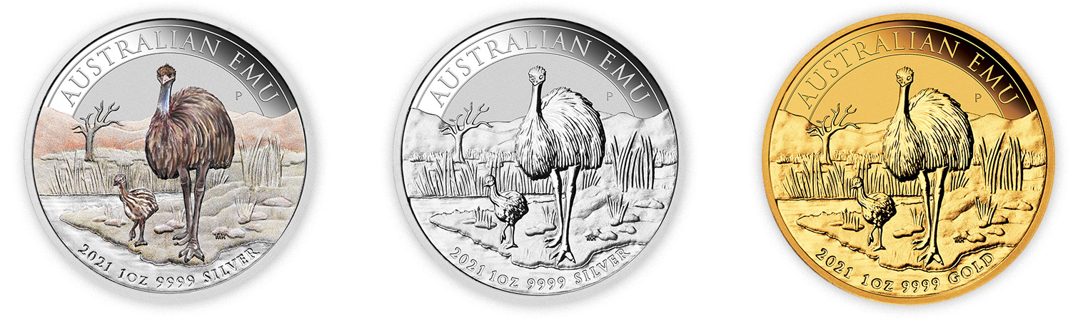 gold emu australian 2021