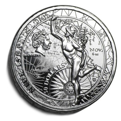 Fortuna Redux 6 uncji Srebra 2013 Proof