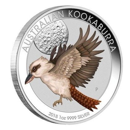 Kookaburra 1 uncja Srebra 2018 (World Money Fair Berlin)
