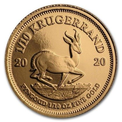 Zestaw 5 monet Krugerrand 2020 Proof
