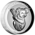 Koala 1 uncja Srebra 2020 Proof High Relief