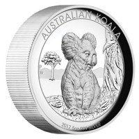 Koala 5 uncji Srebra 2017 High Relief