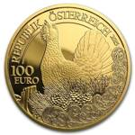 Wildlife in our Sights: Głuszec 100 Euro 2015 Proof